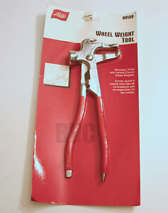 Wheel Weight Hammer And Removal Tool Lisle 68130 Remove Trim Install Clipon
