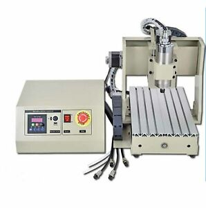 Usb 3 Axis Cnc 3040 Router Engraver Milling Cut Drill Machine W controller 400w