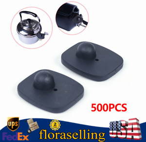 500x Security Hard Tags Tool Anti theft System Clothes Alarm Supermarket 8 2mhz