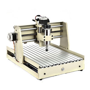 4 Axis Cnc 3040 Router Engraver Metal Woodwork Drilling Machine 400w Handwheel