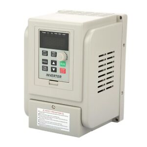 2 2kw Single To 3 Phase Variable Frequency Drive At1 2200x Vfd Speed Controller