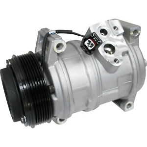 Universal Air Conditioner Uac Co 21625c A C Compressor W Clutch New