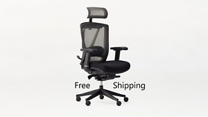 Ships Free Ergonomic Office Chair Ergochair 2 Autonomous Black