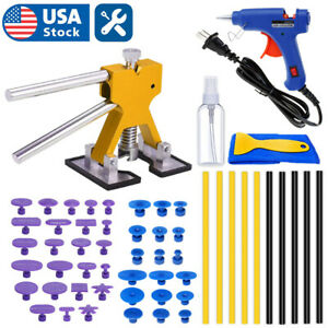 32 Pc Car Paintless Dent Repair Puller Remover Kit Lifter Dint Hail Damage Tools