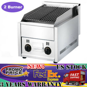 Commercial Gas Grill Bbq Equipment Restaurant Char Broiler Grill Machine Fy 977