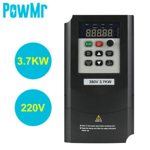 Single To 3 Phase 3 7kw 3hp 220v Variable Frequency Drive Inverter Cnc Vfd