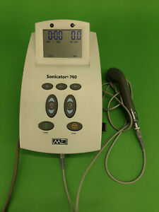 Mettler Sonicator 740 3 Mhz Therapeutic Ultrasound Unit W 1cm Applicator