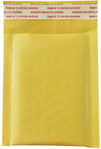 50 Pack 3 5x5 Inches Small Padded Envelopes Kraft Bubble Mailers Self Seal Shipp