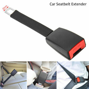 Universal Rigid Car Seat Belt Extension Extender 9 84in Buckle Clip Firm Solid