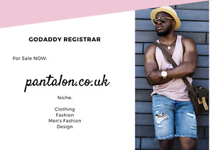 Great Domain For Sale For Fashion Lovers Pantalon co uk