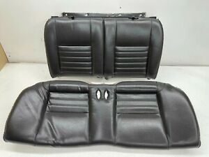 1999 2004 Oem Ford Mustang Coupe Gt Leather Rear Seats Back Seat Charcoal t788