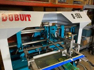 Dubuit Of America Model D 150 Screen Printing Press Round Bottles Made In Usa