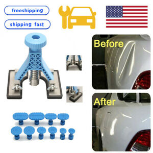 Car Body Blue Dent Lifter Tools Tabs Paintless Hail Damage Removal Repair Kits