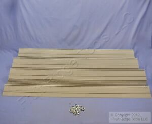 Leviton Warehouse 47 3 4 Label Mounting Channels For Pallet Racking 100 Total