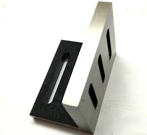 Caste Iron Slotted Angle Plate 110 X 89 X 75 Mm stress Relieve usa Fulfilled