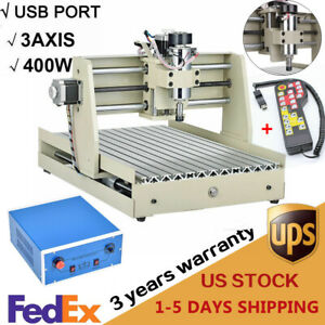 400w Cnc 3040 Cnc Router Engraver Drilling Milling Machine Usb handwheel Fast