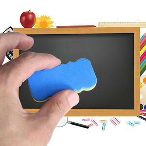 4pcs Board Rubber Blackboard Whiteboard Cleaner Dry Marker Pen Eraser Lb y