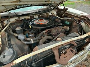 1971 Plymouth Fury State Police 440 Super Commando Engine Transmission 11k 727