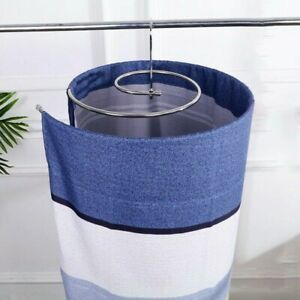 Spiral Shaped Sheet Quilt Blanket Drying Hanger Round Rack Rotating Clothes Hook
