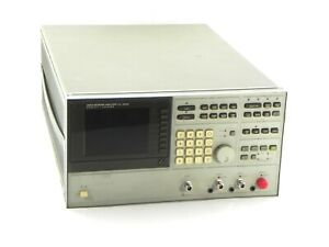 Agilent Hp Keysight 3577a Network Analyzer 5hz 200mhz With Color Lcd Display