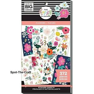Happy Planner Stickers Book Flowers 372