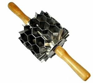 Stainless Steel Hex Cutter 42 Cuts Donut Holes Biscuits Crackers Etc