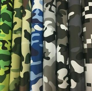 Camouflage Vinyl Wrap Auto Car Motorcycle Scooter Sticker Decal Adhesive Sheet