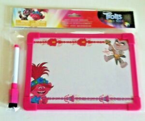 Trolls Childs Hanging Dry Erase Board With Pen