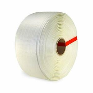 Idl Packaging 3 4 X 1640 Woven Cord Strapping Roll Of 6 X 3 Core Size 242
