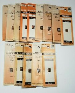 New Old Stock Nos Mixed Lot 14 Archer Resistors 271 013 271 047 271 030 More