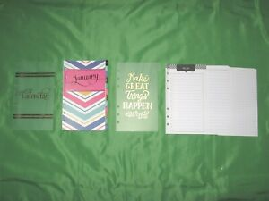 Compact 5 Months Undated Floral Refill Day Runner Fill Planner Franklin Covey