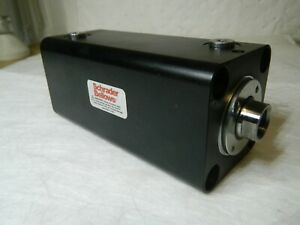 Schrader Double Acting Steel Body Compact Hydraulic Cylinder40 Bore 22 Rod Diam
