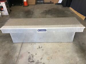Kobalt Aluminum Truck Toolbox Used In Good Condition