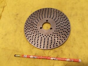 Index Plate 24 25 26 28 32 34 38 44 46 Holes Dividing Head Indexer Rotary Table