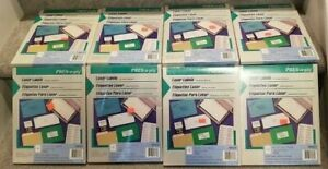 4 500 Avery Compatible 5163 5263 5663 5963 Easy Peel Labels White 2 X 4