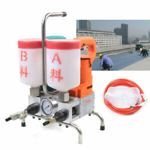 1500w Electric Epoxy Injection Grouting Steel Machine Double Liquid High Speed