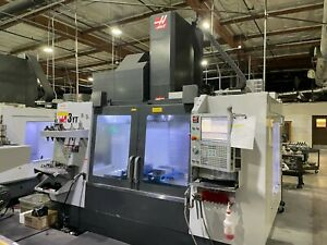2019 Haas Vf 3yt 50 4 axis Cnc Vertical Machining Center W rotary Table