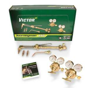 Victor 0384 0808 Journeyman 450 Acetylene Torch Outfit With Classic Regulator