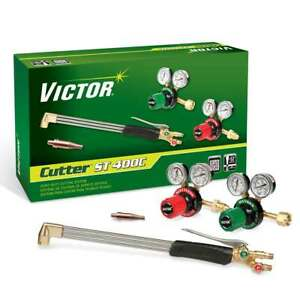 Victor 0384 2694 Cutter St400c Extra Heavy Duty Acetylene Cutting Torch Kit