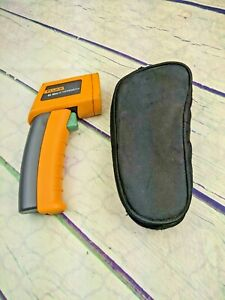 Fluke 62 Mini Ir Thermometer With Bag Good Working Condition