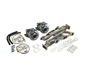 Sbc For Chevy Twin Turbo Kit 950hp 262 400 350 305 5 0 5 7 Hot Parts 5 0l 5 7l