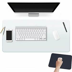 24 X 60 Inch Xl Desk Pad Protector Clear Desk Mats Blotter On Top Of Desks Fo