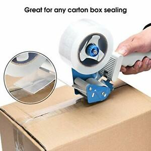 Packing Tape Dispenser Gun Pacific Mailer 2 Inch With Carton Blue