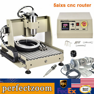 Cnc Router 3040 5axis Engraving Carving Machine Cnc Metal Milling Machine 800w