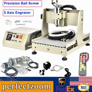 Cnc Router 3040 5axis Engraving Carving Machine Cnc Metal Milling Machine rc