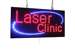 Laser Clinic Sign Super Bright Led Open Sign Store Sign Business Sign Window