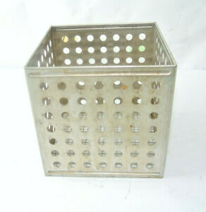 Stainless Steel Incubator Autoclavable Tray Laboratory Pan 6 X 6 X 6
