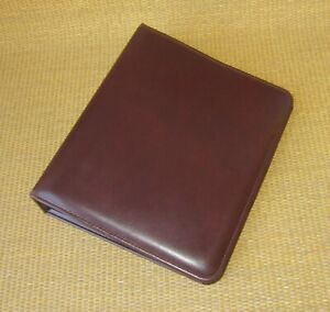 Classic Franklin Covey Burgundy Durable 1 5 Rings Open Planner binder