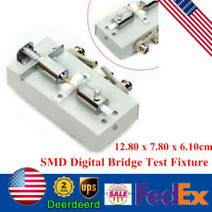 Bench Smd Chip Components Test Fixture Lcr Bridge Test Cable Tester Lcr Meter