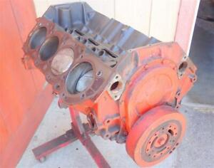 1965 Bbc 396 425hp Engine 3855962 4 Bolt Main Short Block F95 To622ie 030 Over